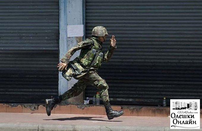 В Олешковском районе сержант-контрактник за дезертирство отделался штрафом