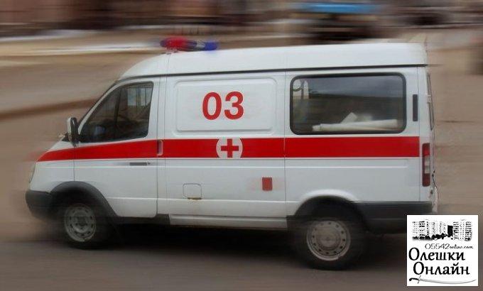 В Олешковском районе в ДТП погибли двое детей