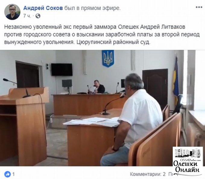 Как гражданин РФ пытается присвоить деньги налогоплательщиков в Олешках