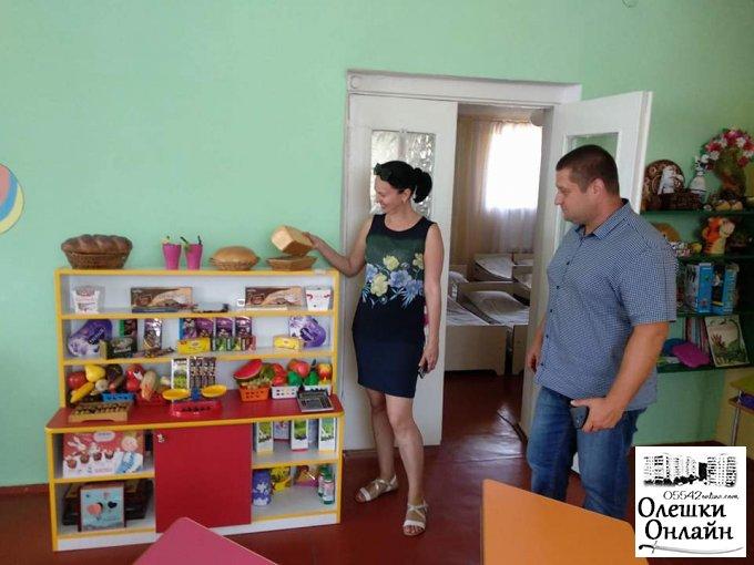 В Олешках дошкільні навчальні заклади готові до нового навчального року