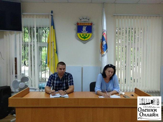 Підготовка до зими. Зустріч із головами ОСББ в Олешках