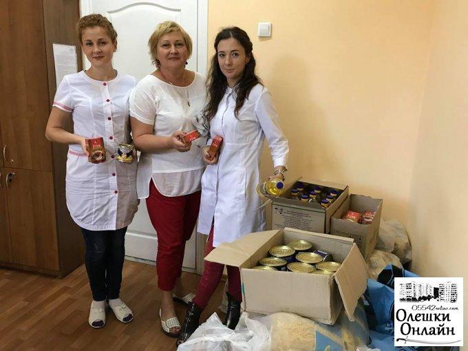 В Олешках реалізується міська програма «Здоров'я»