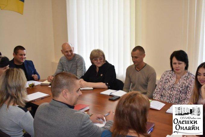 Новий секретар Олешківської міської ради приступив до виконання своїх обов'язків