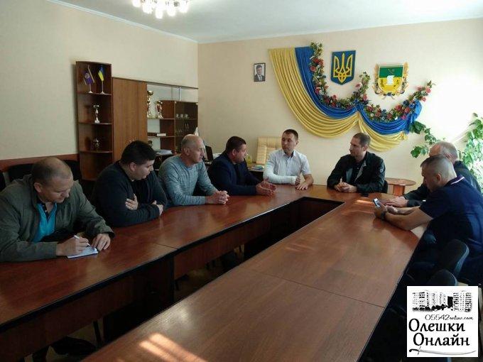 Народний депутат України завітав до Олешок