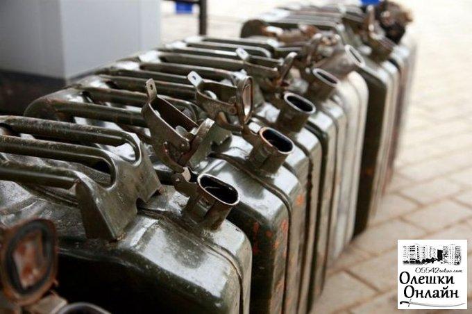 Житель Олешковского района украл у бывшего работодателя 120 литров бензина