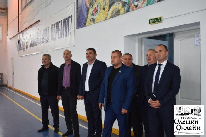 Олешківський міський голова привітав м. Гола Пристань з річницею