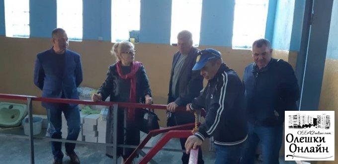 Комунальні підприємства міста Олешки до зими готові