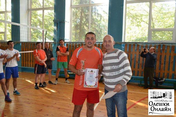 В Олешках відбувся «Кубок Олешківського міського голови з волейболу»
