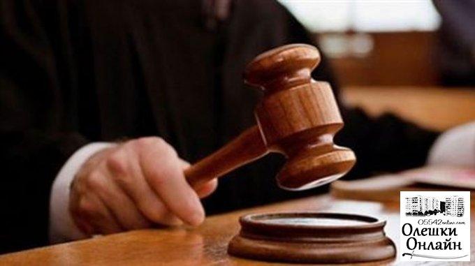 В Олешках судили мужчину, который больше двух десятков раз обворовал одного и того же человека