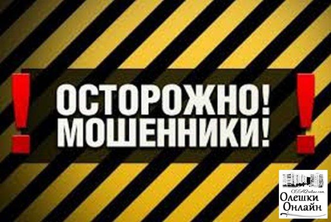Двое жителей Олешковского района пострадали от действий мошенников-продавцов отопительных материалов