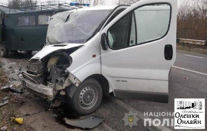 Полиция устанавливает обстоятельства ДТП с летальным исходом в Олешковском районе