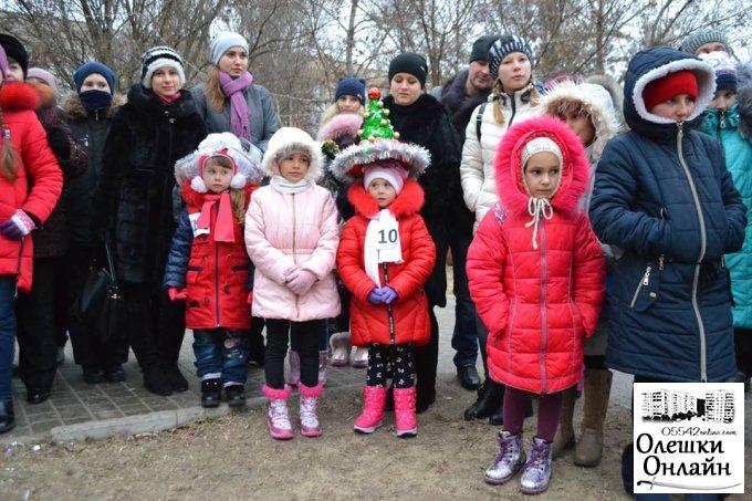 Казкова чарівність зимових свят в Олешках розпочалась