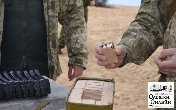 Боевое оружие постоянно пропадает на полигоне в Олешковском районе