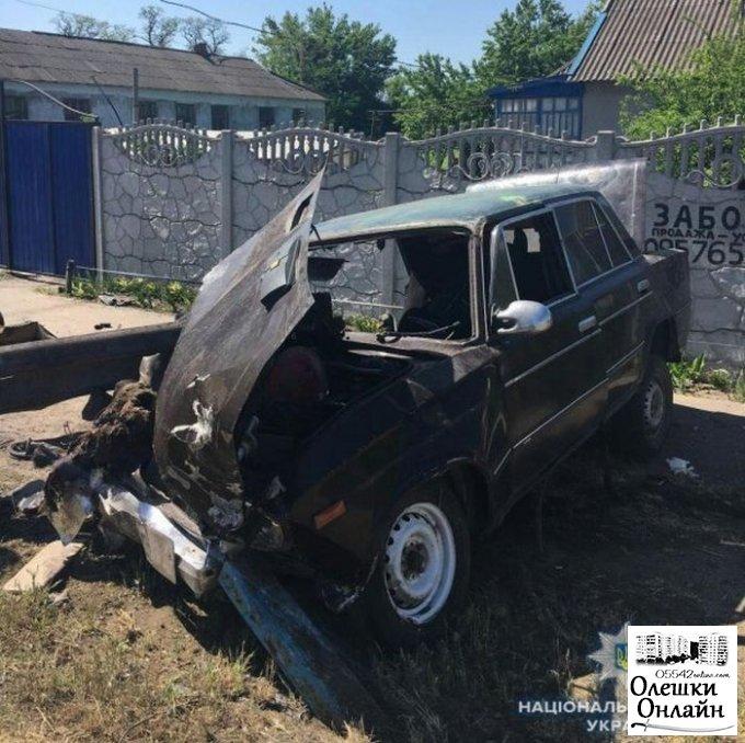 В Олешковском районе получил срок виновник смертельного ДТП на угнанном автомобиле