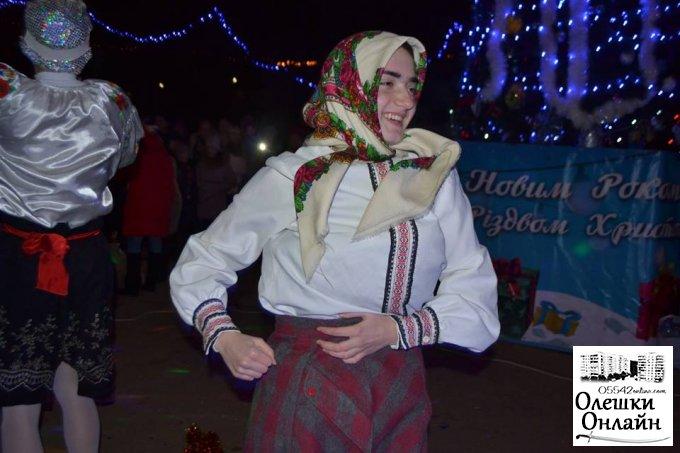 Олешки зустріли Новий рік