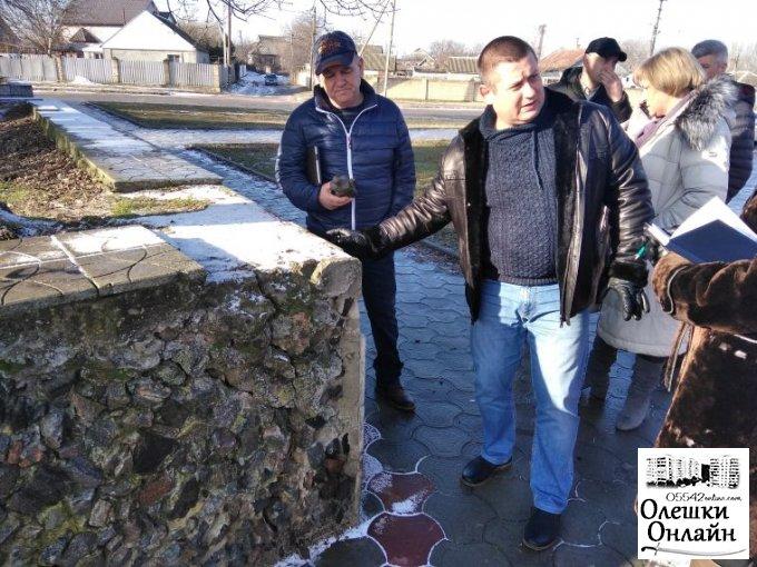 Активно працюємо на благо нашого міста Олешки