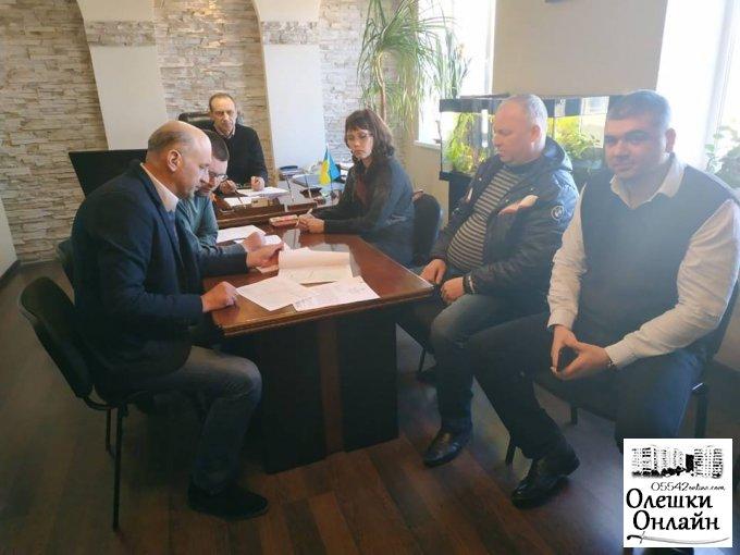 В Олешківській міській раді почала працювати тимчасова контрольна коміся щодо корегування тарифів на перевезення