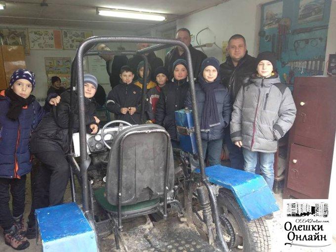 Молодь міста обирає  Олешки