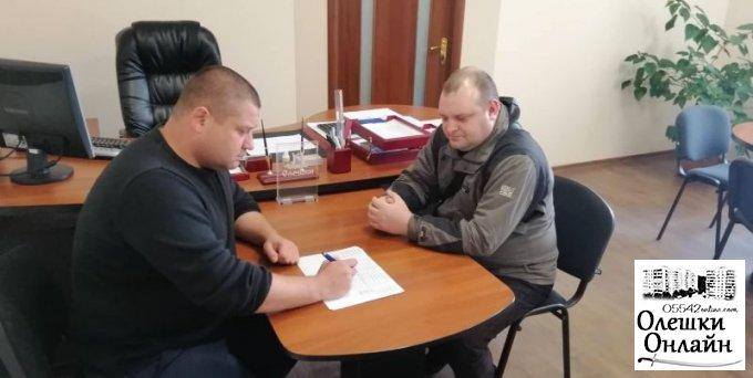 Дмитро Воронов повідомив ще одну гарну новину для жителів міста Олешки