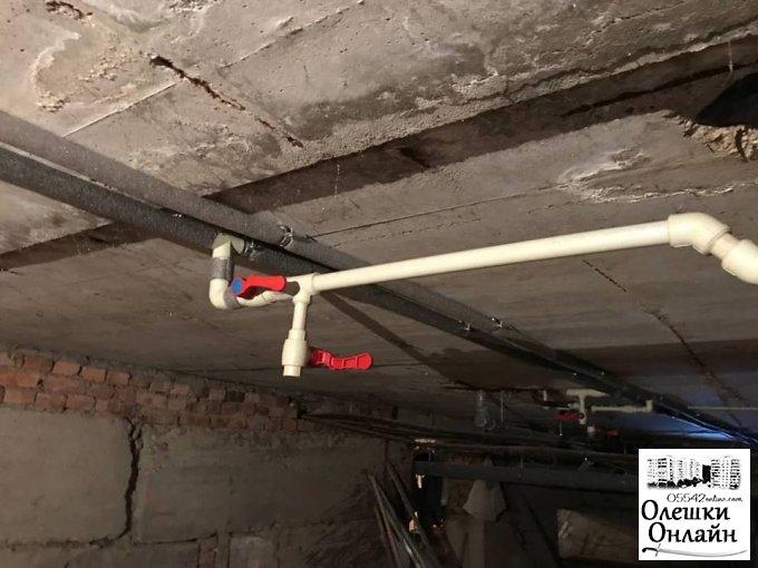 В ДНЗ № 6 завершено роботи з капітального ремонту мереж водопостачання та водовідведення