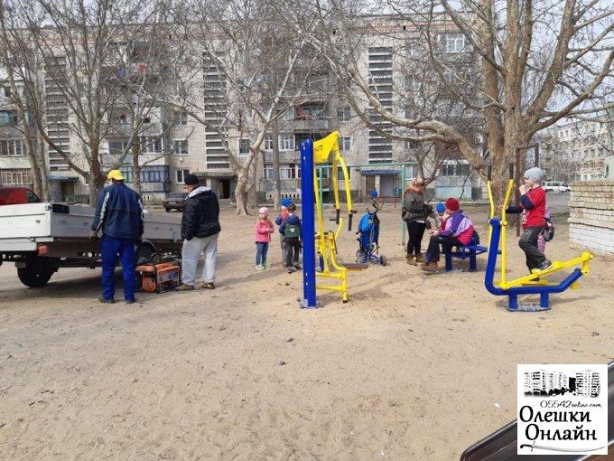 Олешківська міська рада – за безпечне корисне дозвілля для малечі
