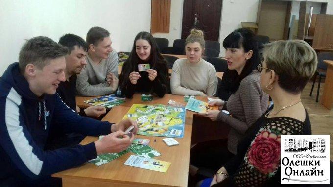 Молодіжна рада зустрілась з фахівцями Олешківського бюро правової допомоги