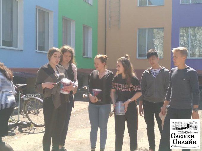 Олешківські гімназисти створюють казку для дітей
