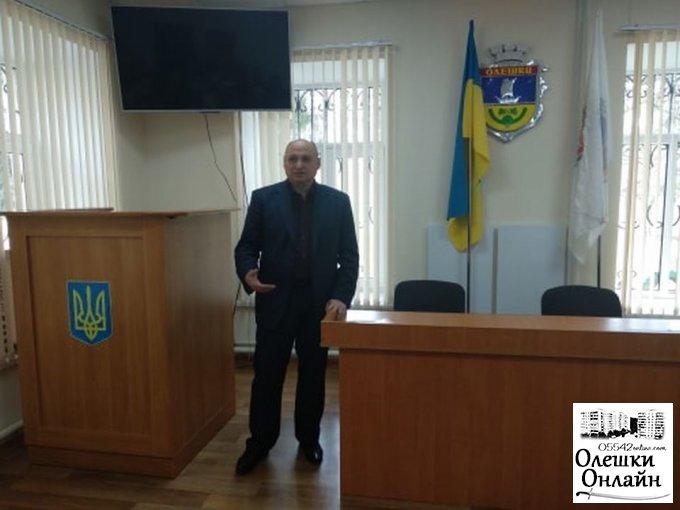 Активні жителі Олешок обговорили важливі питання з місцевою владою