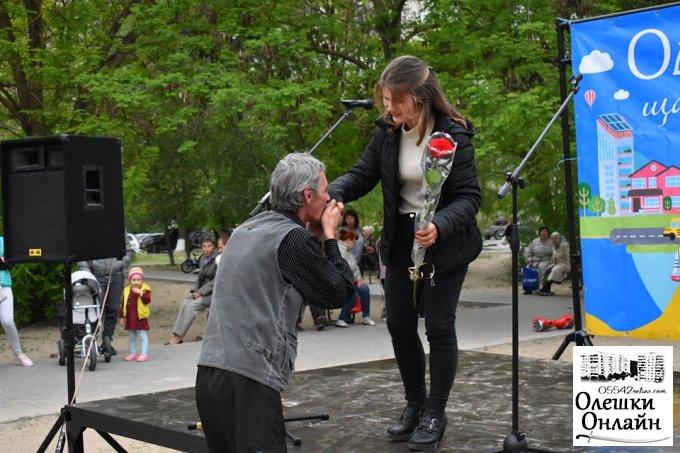 В сквері біля АТБ відбувся концерт до Дня Перемоги над нацизмом