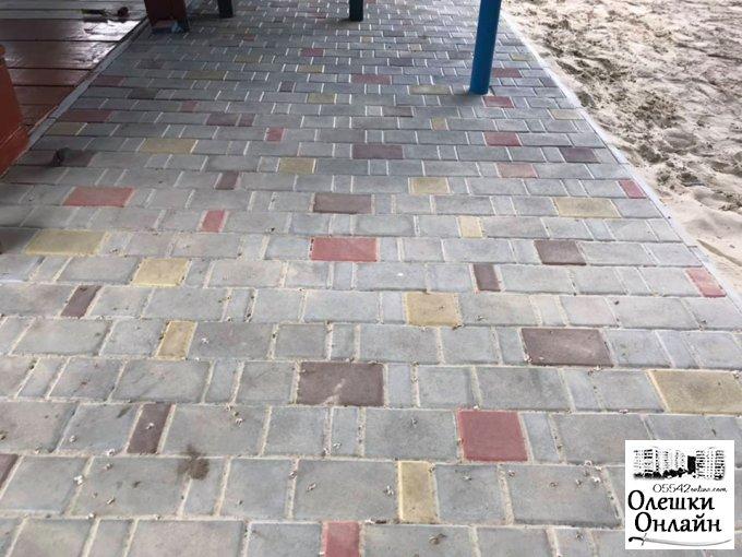 В ДНЗ ясла-садку №6 завершено ремонтні роботи дитячих ігрових павільонів