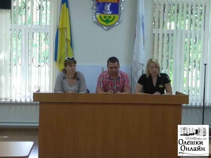 В Олешках відбувся круглий стіл з представниками «Зооконтролю»