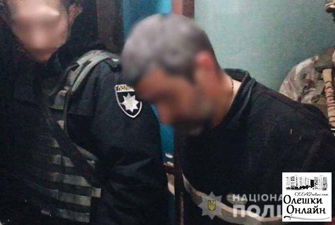 Олешковского 'взрывателя' будут судить по нескольким уголовным статьям