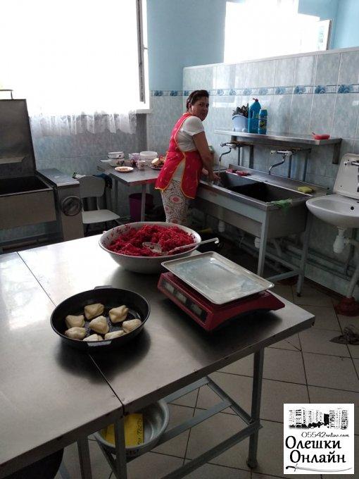 Харчування у  Олешківських дитсадках