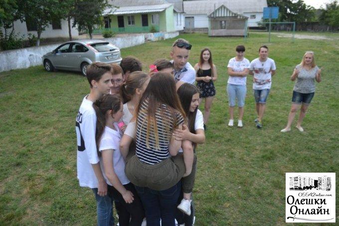 Перший молодіжний ХАЙП в Олешках