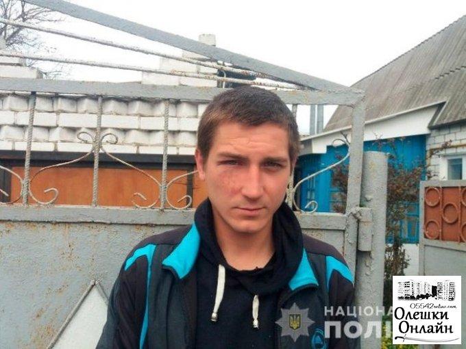Полиция разыскивает подозреваемого в ограблении пенсионерки в Олешках