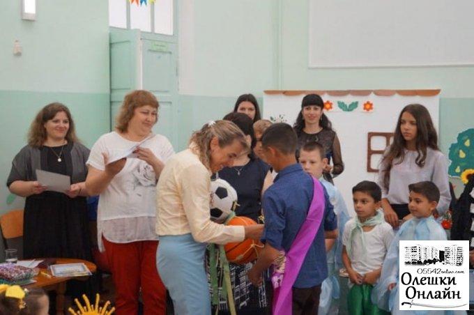 Заступник Олешківського міського голови привітала дітей Олешківської спеціальної ЗОШ І-ІІІ ступенів з закінченням навчального року