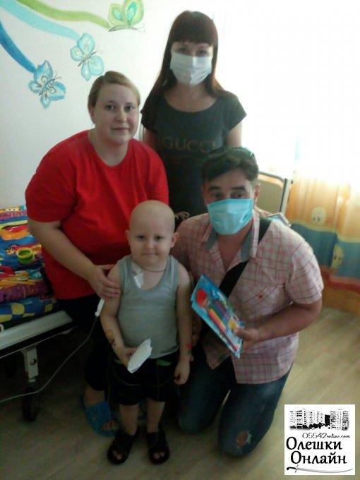 Допоможи Матвію Савченко