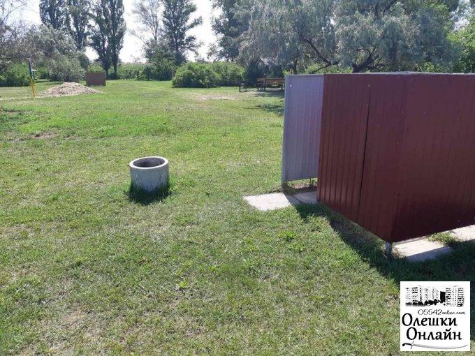 Здійснюється прибирання зелених зон в районі річок Чайка та Конка