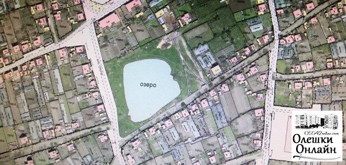 Біля озера в Олешках з'явиться нова зона відпочинку