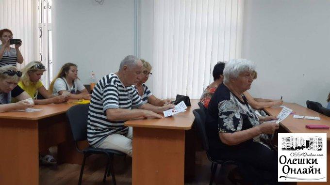 До Олешок завітав представник Уповноваженого Верховної Ради України з прав людини в Херсонській області.