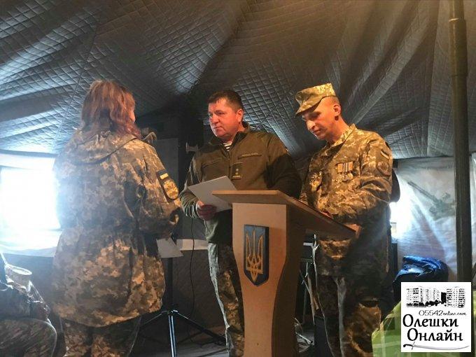 Привітання військовослужбовців від громади