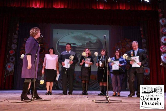 Олешківській школі №2 - 85