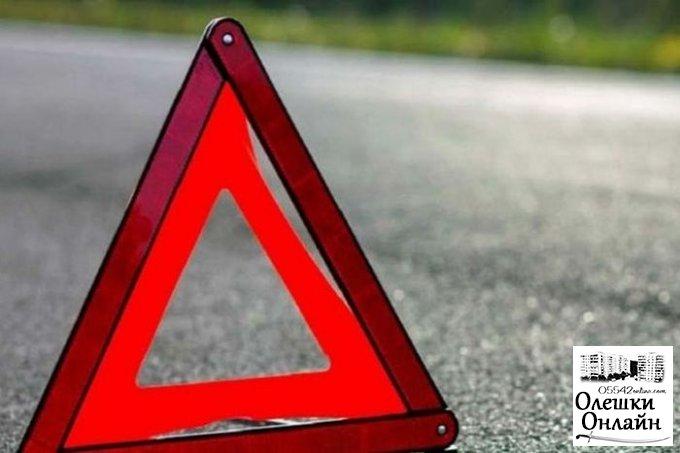 Водитель в Олешках сам на себя в полицию заявил