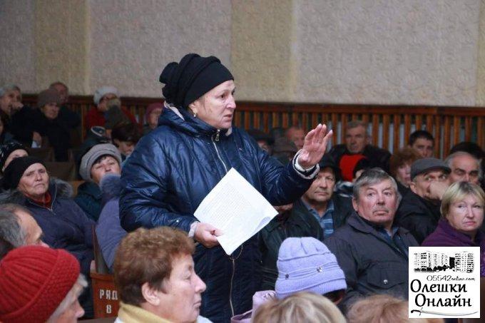 """Громадські обговорення сказали """"ТАК"""" Олешківській ОТГ"""