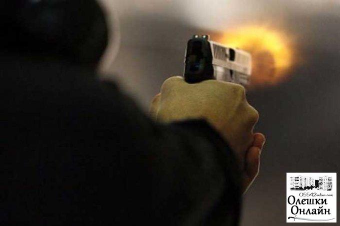 Мужчину расстреляли в собственном доме в Олешковском районе