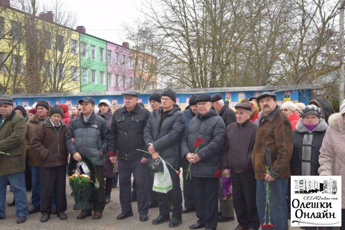 Олешківці  вшанували пам'ять учасників ліквідації наслідків аварії на ЧАЕС