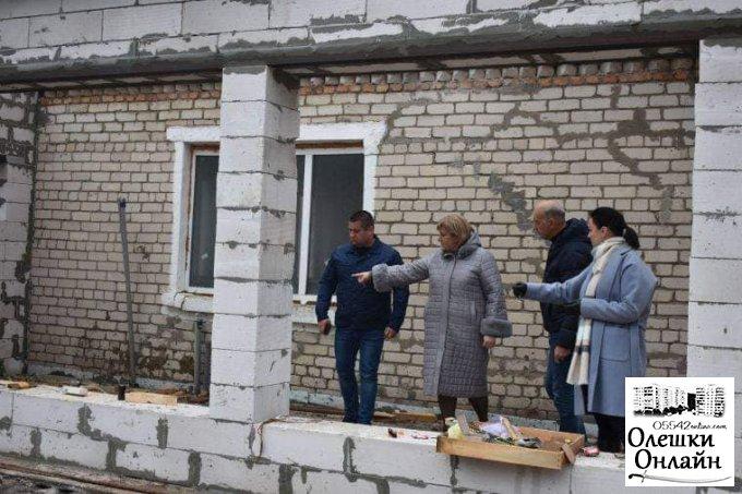 Активна робота над створенням інклюзивного центру в Олешках