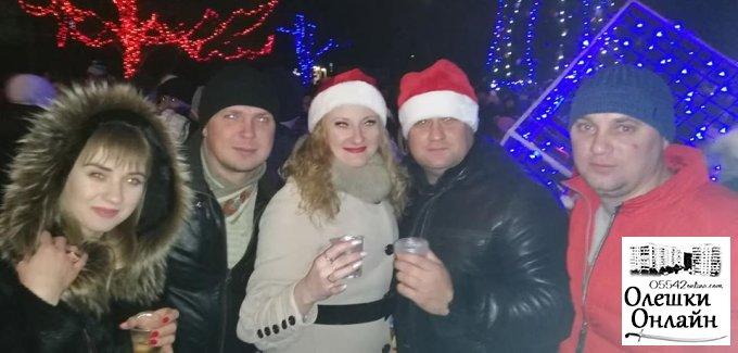 Новорічна казка в Олешках