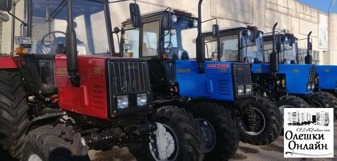 Олешки чекають на новий трактор