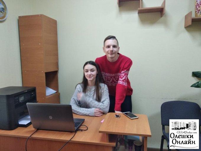 Молодь Олешок продовжує роботу